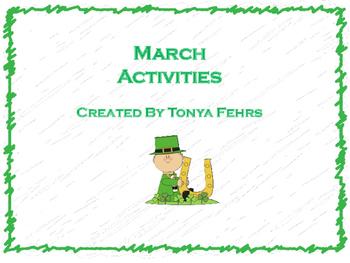 March Acitivites