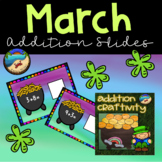 March Activities: St Patrick's Day Math and Writing
