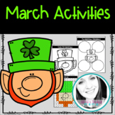 March Activities Bundle - Math + Literacy + Craft + Writing