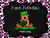 March Activities Made Easy!
