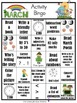 March Activity Bingo