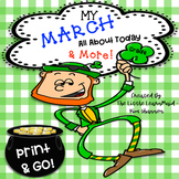 March Activity Book All About Today and More Skills  Second Grade
