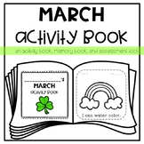 March Activity *Memory* Book for Young Learners or Special Education