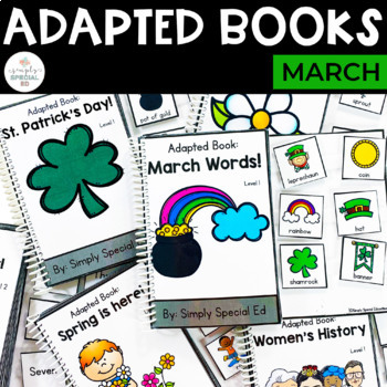 March Adapted Book Bundle