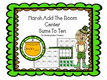 March Add The Room Center -Sums to 10
