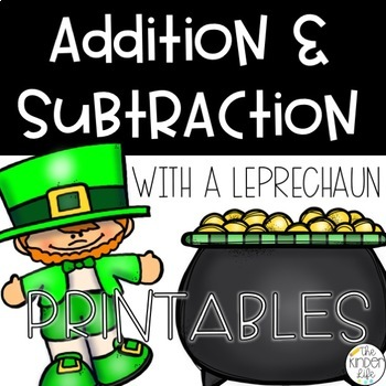 March Adding and Subtracting With a Leprechaun