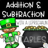 March Addition Subtraction Activities