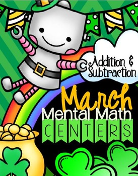 {March} Addition & Subtraction Strategies Centers
