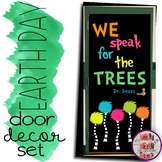 March/April Door Decoration Set Read Across America Earth Day Lorax