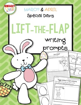 March & April Special Days Lift-the-Flap Writing Prompts