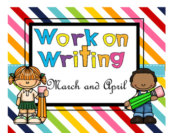 March April Writing Center