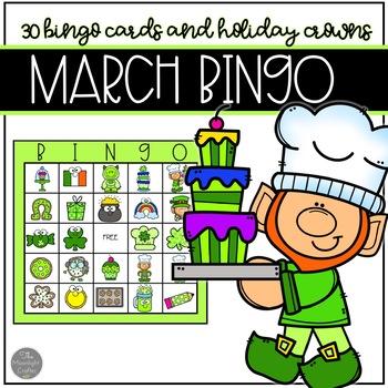 March BINGO for 30 Children