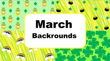 March Backrounds FREE