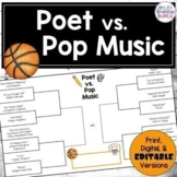 March Basketball Competition | Poetry and Pop Music Print