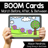 March Before After & Between Boom Cards™ for Kindergarten
