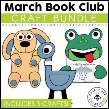 March Book Club {Pigeon, Knuffle Bunny, & Freddy the Frogcaster}
