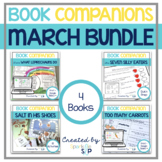 March Book Companion Bundle | Speech Therapy Printable and Digital