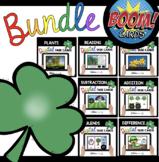 March Boom Card Bundle for Kindergarten - St. Patrick's Da