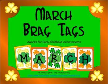 March Brag Tags