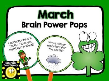 March Brain Power Pops