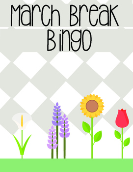 March Break Bingo