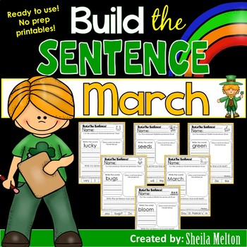 March Build the Sentence