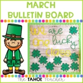 March Bulletin Board | With Writing Prompt