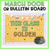March Bulletin Board or March Door Decor