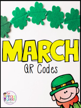 March Bundle: Daily Five QR Code Listen to Reading and Work on Writing