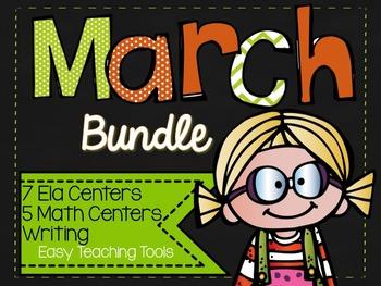 March Bundle: ELA, Math, and Writing