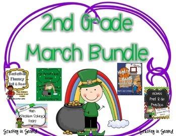 March Bundle  {Math and Literacy}
