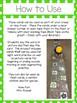 March CVC, CVCC and Sight Word Creep Track Cards
