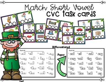 March CVC Task Cards