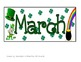 March Calendar- ABCCD Patern Pieces