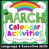 March Calendar Activities - Language Fun!