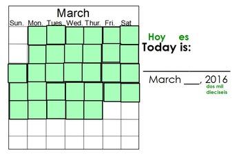 March Calendar Math