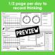 March Calendar Math Student Journal- 4th Grade Edition