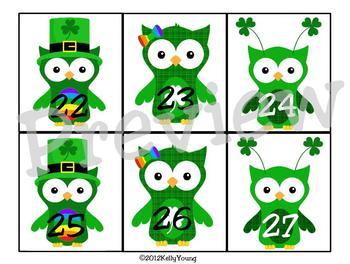 March Calendar Owls