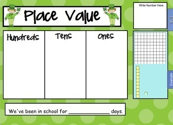 2017 March Math and Calendar Pack - For SMARTboard