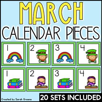 March Calendar Pieces!