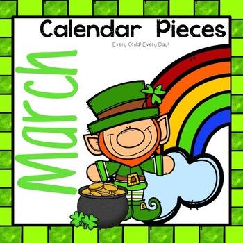 March Calendar Pieces