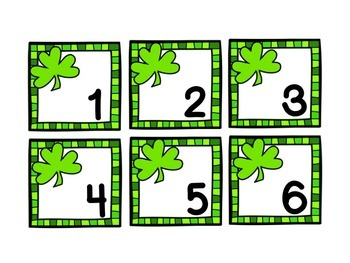 March Calendar Set - St. Patrick's Day FREE