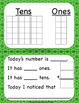 March Calendar Squares With Ten FrameThat Encourages Math Talk