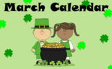 March Calendar for ClearTouch Panels