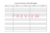 March Caseload Tracker