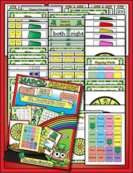 March Center Activities - Math and Literacy (Second)