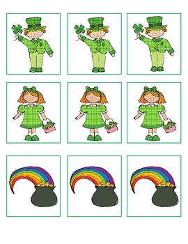 March Center Work for Kindergarten~Mini Pack