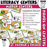 March Centers -- Kindergarten ELA ONLY