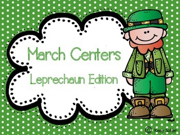 March Centers - Leprechaun Edition