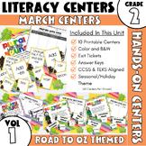 March Centers--2nd Grade ELA